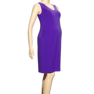 Gap Maternity Jersey Knit Ruched Tank Dress